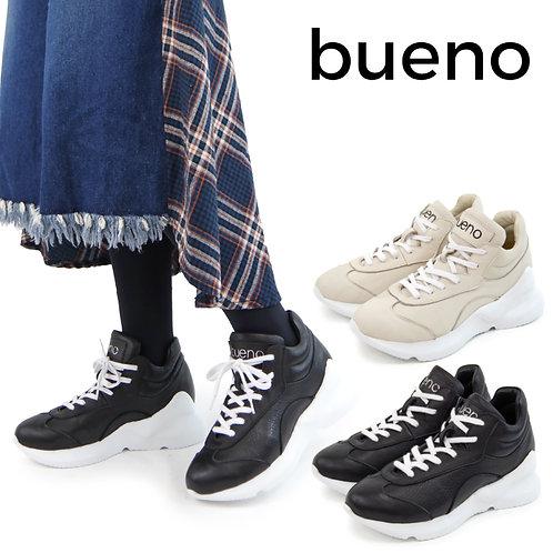 【BUENO SHOES ブエノシューズ】トルコ製 レザー ハイカットスニーカーブーツ【P7908】