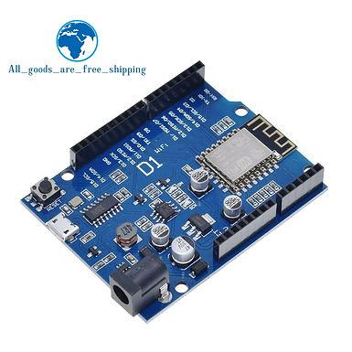 ESP-12F WiFi Uno Based ESP8266 Shield (Arduino Compatible IDE)