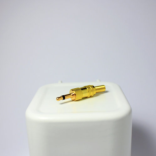 3.5mm Jack Male Connector Gold