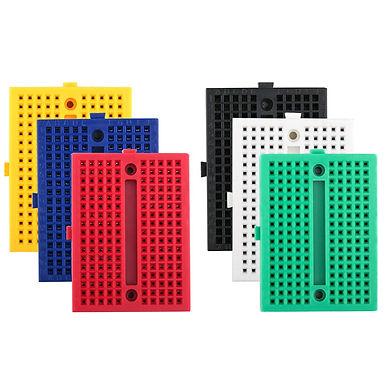 Robotlinking 6PCS 170 Tie-Points Mini Breadboard Kit for Arduino