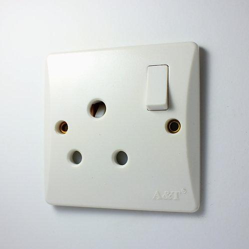 A&T 15 Amp Single Socket