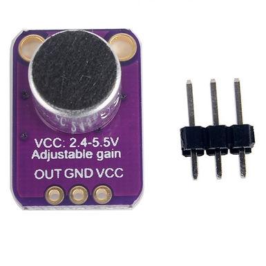 Electret Microphone Amplifier MAX4466 Adjustable Gain
