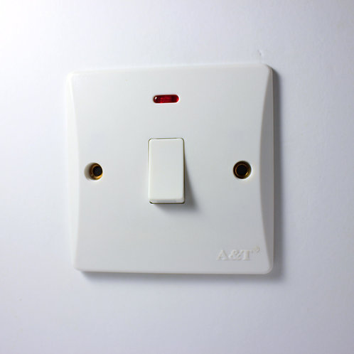 A&T 20A Switch with Light