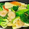 Prawns with Mixed Vegetable