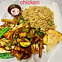 Chicken with Mixed Vegetables (Lunch)