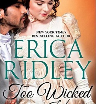 Book Review: Too Wicked To Kiss by Erica Ridley