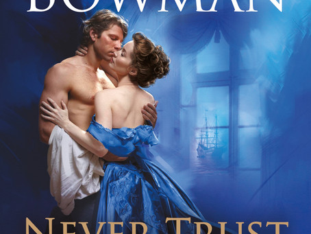 Blog Tour: Never Trust A Pirate by Valerie Bowman