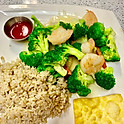 Broccoli Prawns (Lunch)