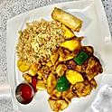Mango Prawns & Chicken (Lunch)