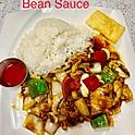 Chicken in Black Bean Sauce (Lunch)