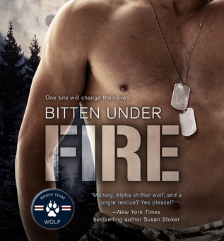 Book Review: Bitten Under Fire by Heather Long