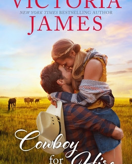 Book Review: Cowboy for Hire by Victoria James