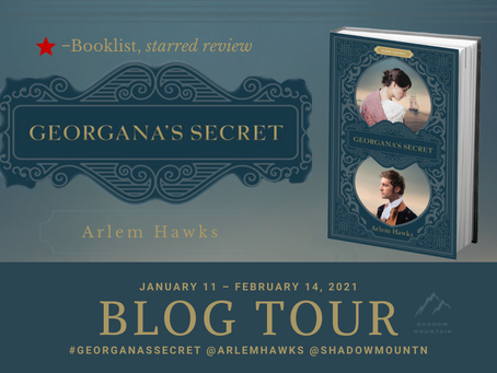 Blog Tour & Review: Georgana's Secret by Arlem Hawks