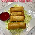 Vegetable Spring Rolls (4)