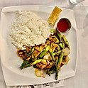 Asparagus W/Chicken in Black Bean Sauce