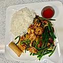 Prawns & Chicken with String Bean (Lunch)