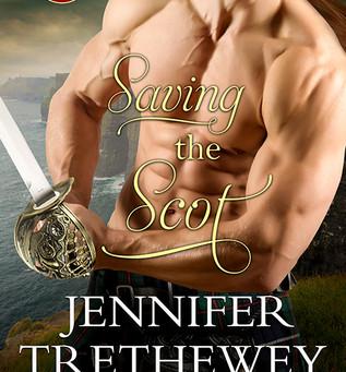 Book Review: Saving the Scot by Jennifer Tretheway