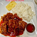 Tendered Pork Chop (Mandarin Style) (Lunch)