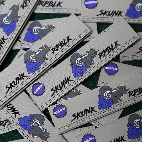SKUNK RPBLK Rolling Papers King Slim Size