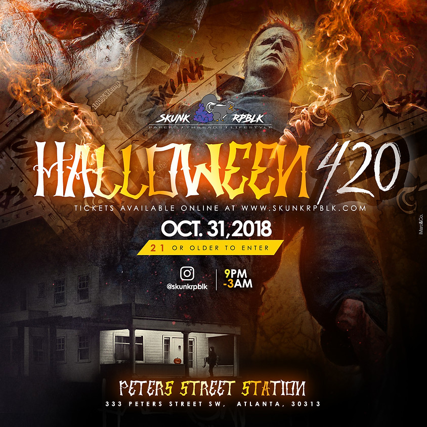 SKUNK RPBLK PRESENTS: Halloween 420