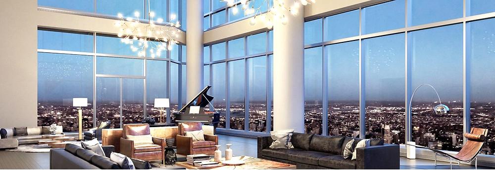Central Park Tower Apartment Interior