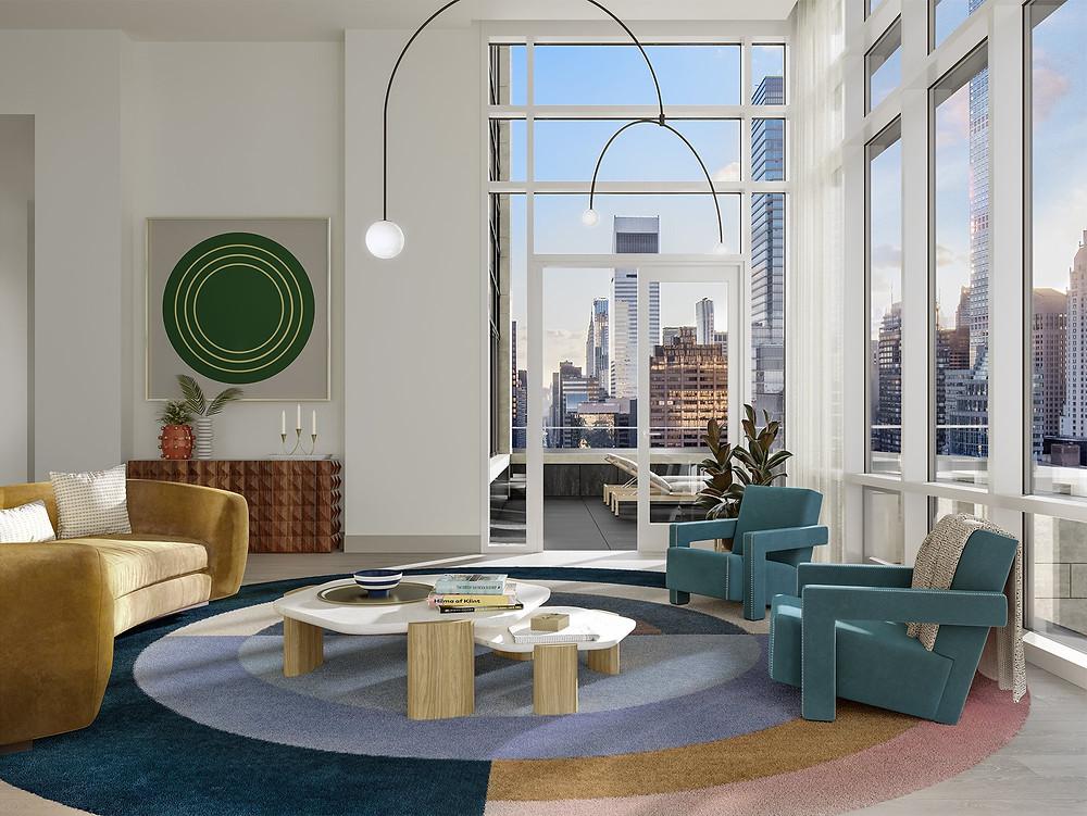 The Leyton Terrace Living Room