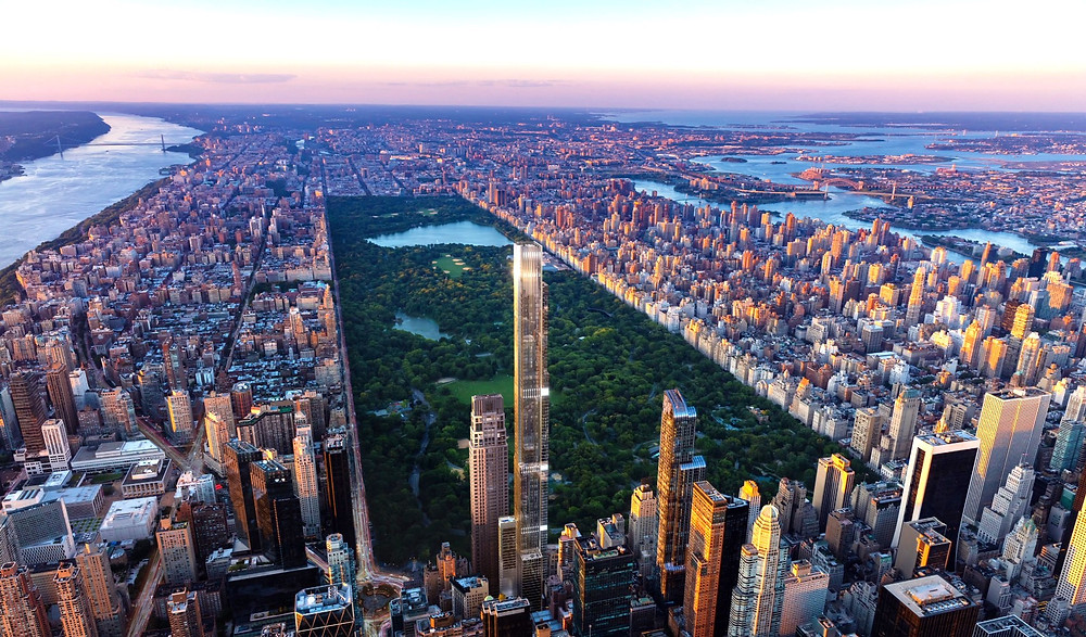 Central Park Tower by Adrian Smith + Gordon Gill