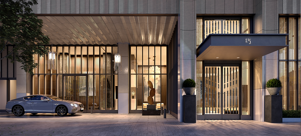 Port Cochere at 15 West 61st Street