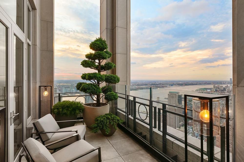 30 Park Place Penthouse Terrace