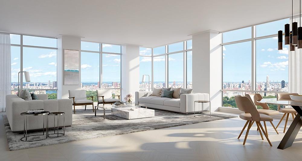 200 Amsterdam Avenue Living Room