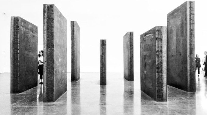 Richard Serra Exhibition At The Gagosian Gallery In Chelsea