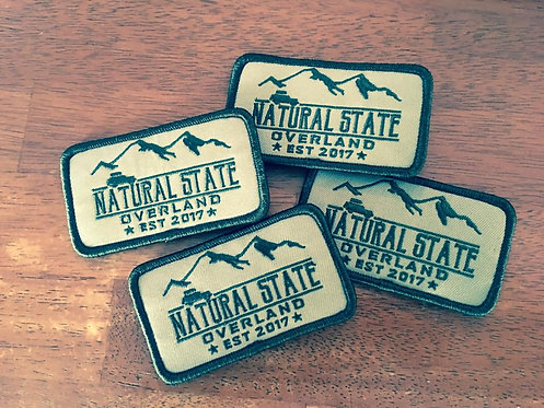 Natural State Overland patch