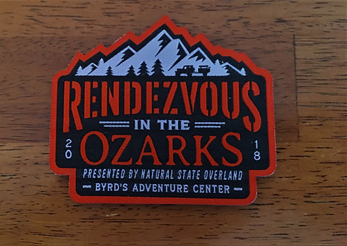 Rendezvous in the Ozarks 2018 patch