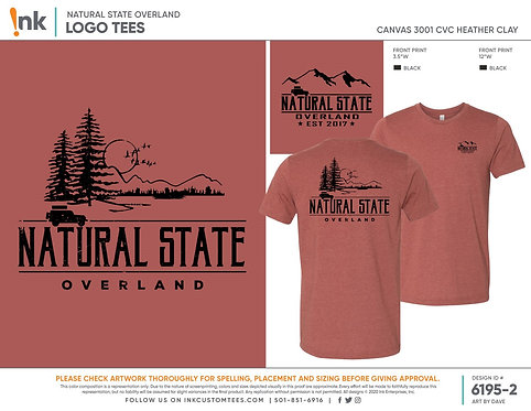 Natural State Overland T-shirt