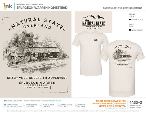 Chart Your Course to Adventure t-shirt #1 in series