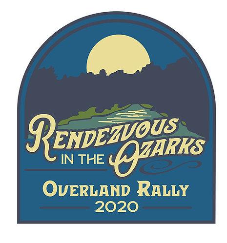 Rendezvous in the Ozarks 2020 sticker