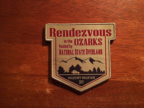 Rendezvous in the Ozarks 2017 Patch