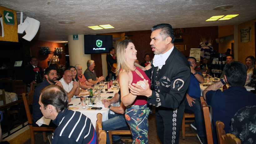 Cena en Ciudad de Mexico Evento Bonafont