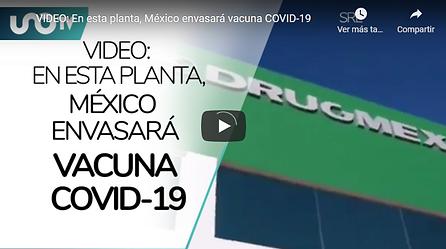 Vacuna COVID 19 Drugmex