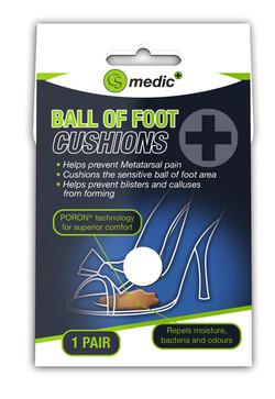 S733 - CS MEDIC BALL OF FOOT CUSHIONS