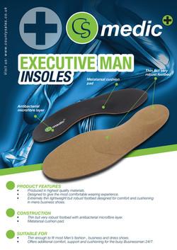 CS MEDIC EXECUTIVE MAN INSOLES