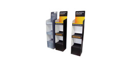 Point of sale and FSDU stand design. logo design companies