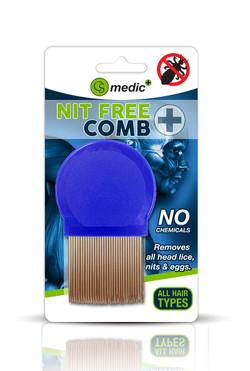 CS MEDIC NIT FREE COMB front