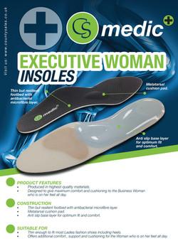 CS MEDIC EXECUTIVE WOMANS INSOLES