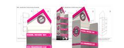 create a graphic design. FSDU (freestanding display unit)3D CAD DESIGN & SETUP