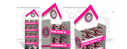 create a logo uk Bespoke Freestanding Display Units FSDU 3D CAD