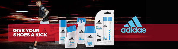 Adidas Shoe Care products