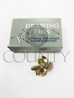 CHOICE DRAWING PINS C54404