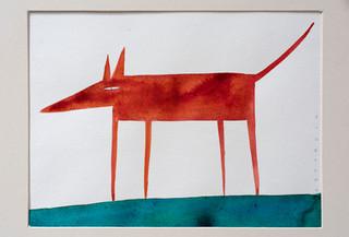 perro rojo