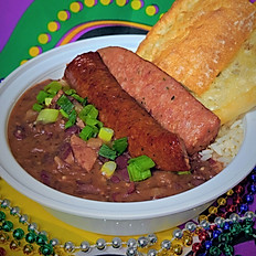 RED BEANS & RICE with SAUSAGE